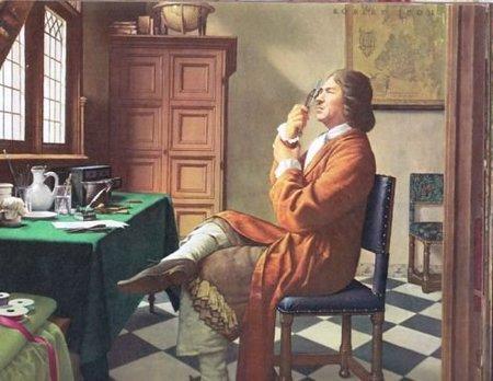 Las lentes de Leeuwenhoek