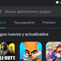 Google Play Store y Play Libros activan su tema oscuro