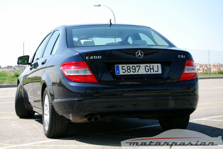 Mercedes-Benz C 200 CDI BlueEFFICIENCY, prueba (parte 4)