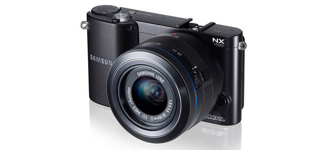 Samsung NX1100 - Vista general