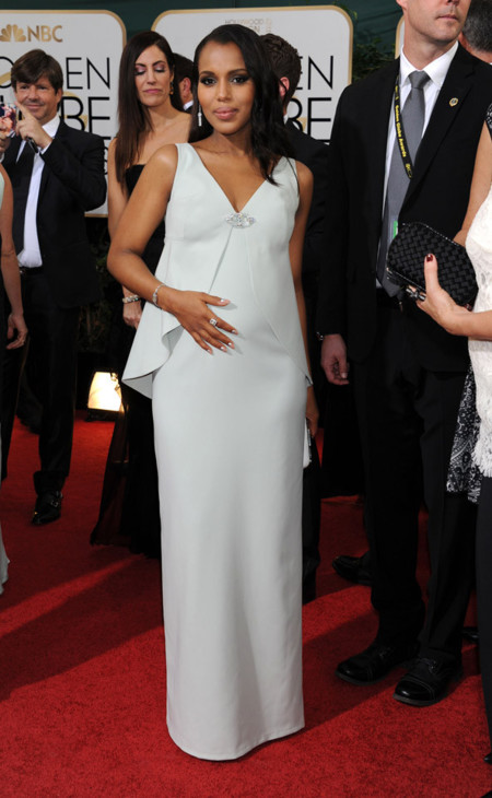 Kerry Washington Globos de Oro 2014