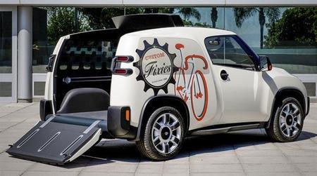 El Toyota U2 parece el prototipo perfecto para unir eficiencia y trabajo en la gran ciudad