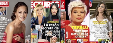 El motivo de la mala relación entre Carmen Borrego y Alejandra Rubio, el problema psicológico de Irene Rosales y la Presyler cumple 70 años: Estas son las portadas de la semana del 17 de febrero