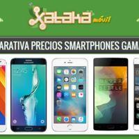 Comparativa precios con operadores: iPhone 6, Galaxy S6, LG G4, Xperia Z3 y otros gama alta