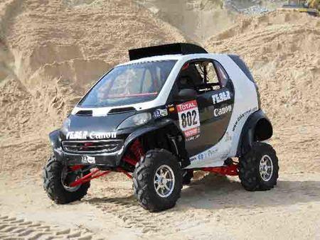 Curiosidades en Competición: Smart Buggy 4x4 para el Dakar