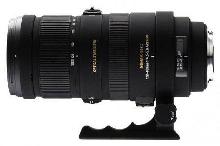 Sigma 120-400 mm F4.5-5.6 estabilizado, también para Sony y Pentax