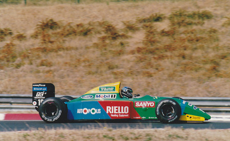 Alessandro Nannini - Benetton 1990