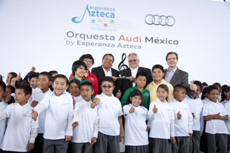 Orquesta Audi México, un proyecto y un compromiso de Audi en San José Chiapa, Puebla
