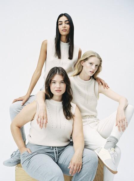 Mango integra Violeta by Mango en la colección normal de mujer y amplia sus tallas grandes hasta la 46 y las pequeñas hasta la 32