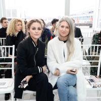 Olivia Palermo y Sarah Harris