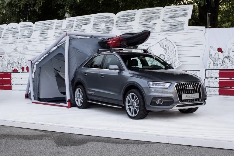 Foto de Tienda de campaña para Audi Q3 (3/12)