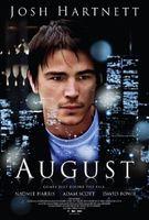 Póster de 'August', con Josh Hartnett y Naomie Harris