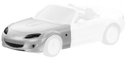 Mazda MX-5, también filtrado a través de la oficina de patentes