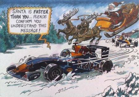 Así felicita Red Bull la Navidad