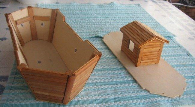 montando el arca