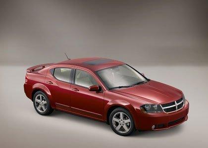 2008 Dodge Avenger, las fotos oficiales