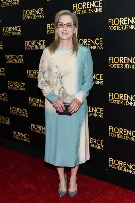 Meryl Streep Premiere Florence Foster Jenkins New York