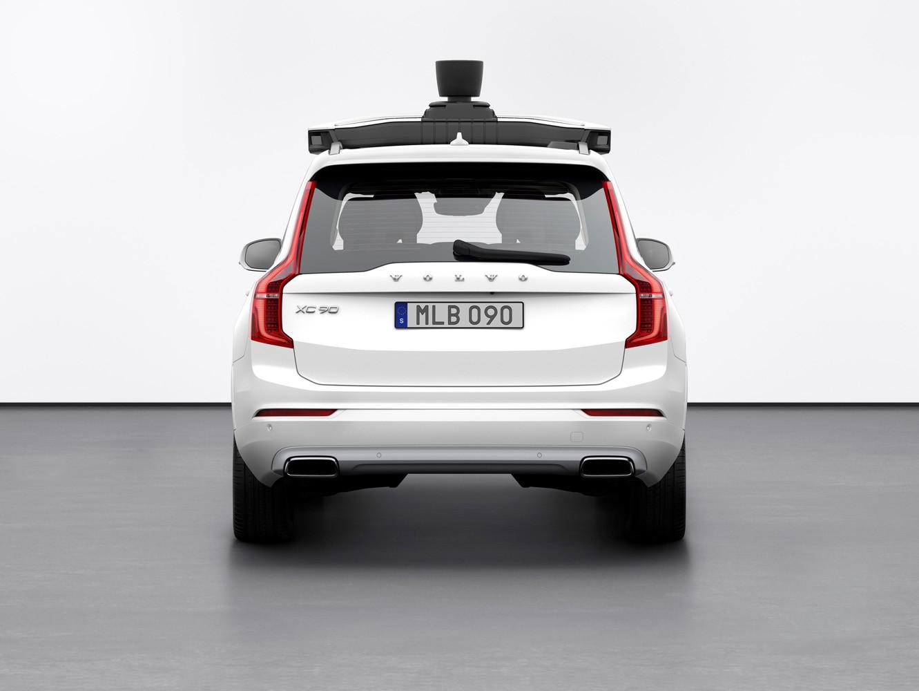 Foto de Volvo y Uber, XC90 autónomo (6/7)