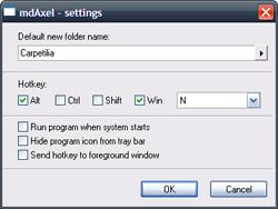 Crea carpetas nuevas en Windows en cuestión de segundos con MdAxelerator