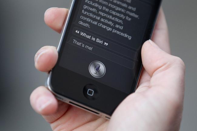 Siri En iphone 4s ios 5