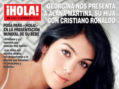 Georgina Rodriguez presenta a su hija con Cristiano al más puro estilo Kardashian, con animal print de Dolce & Gabbana incluido