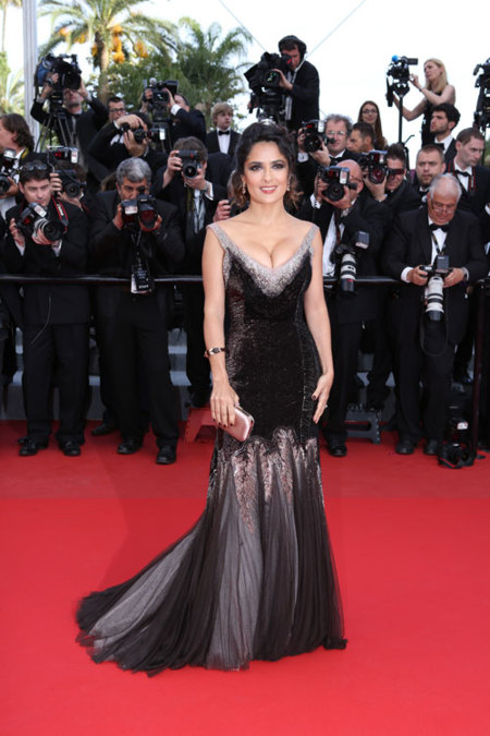 Salma Hayek en Cannes 2012