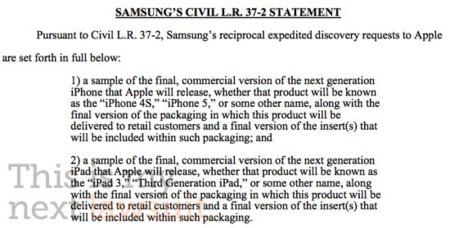 demanda samsung apple