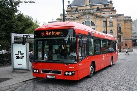 Oslo incorpora otros 17 autobuses Volvo híbridos más a su flota