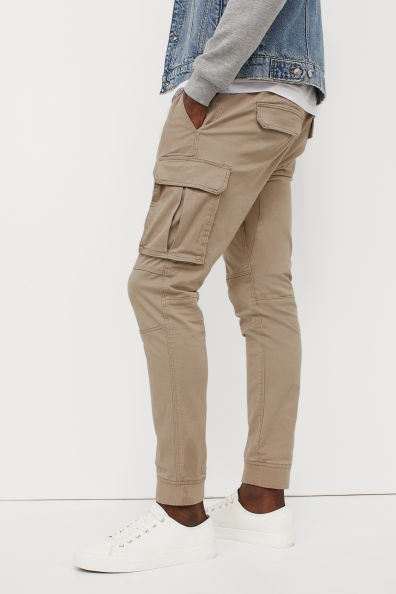 Joggers cargo Skinny Fit