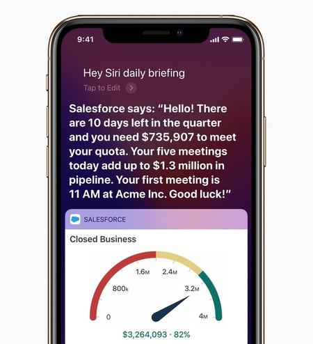 Salesforce se alía con Apple para ofrecer una mejor experiencia de sus servicios en iOS