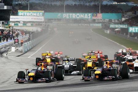 GP de Malasia F1 2011: las posiciones pares e impares se intercambian en la parrilla de salida