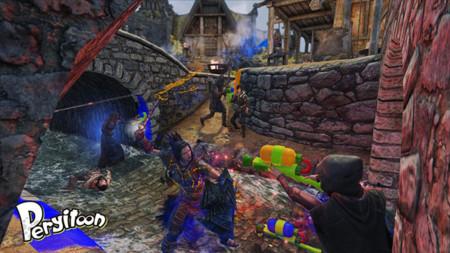 ¡Hasta los guerreros necesitan algo de diversión! Juega Splatoon en Skyrim gracias a este MOD