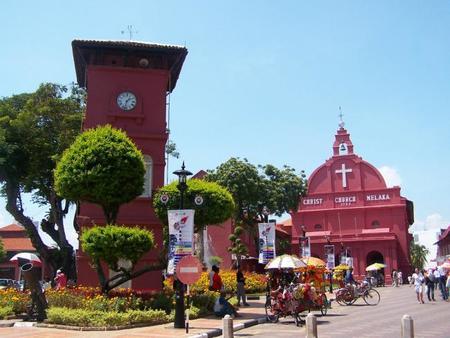 Melaka, una ciudad patrimonio de la Humanidad en Malasia