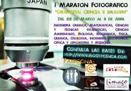 """Concurso fotográfico """"Granada: Ciencia e imagen"""""""