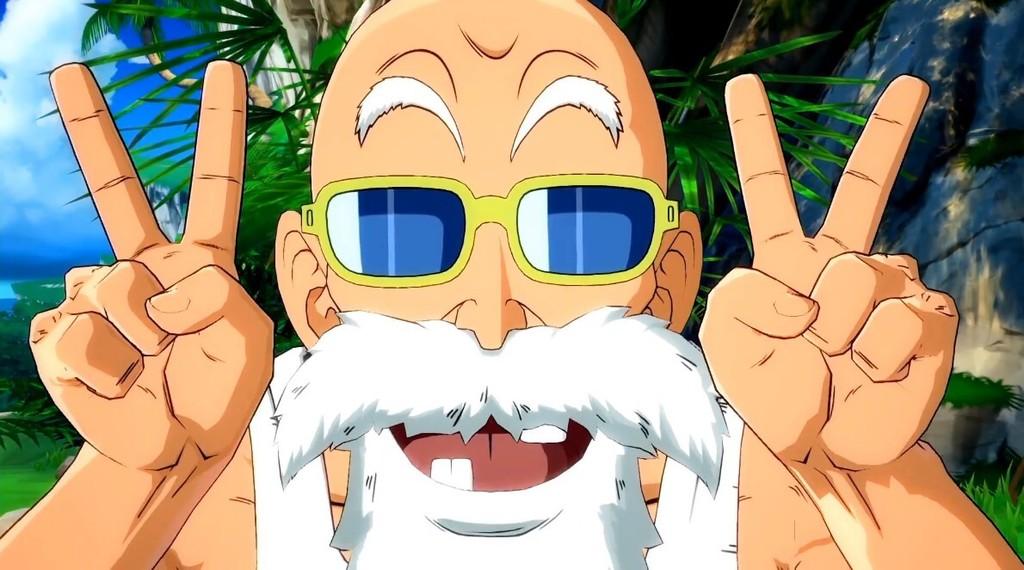El Maestro Muten Roshi por fin se unirá a los combates de Dragon Ball FighterZ en septiembre