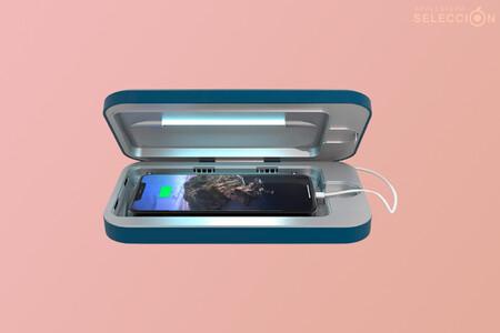 El desinfectante UV y Power Bank PhoneSoap promete acabar con las bacterias del iPhone: roza su mínimo en Amazon, por 84,09 euros