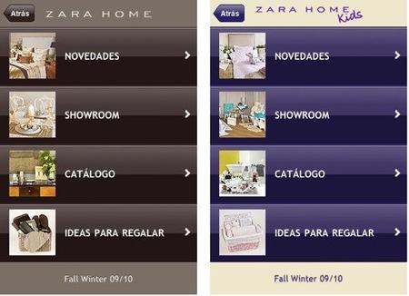 Zara Home tienda online para iPhone