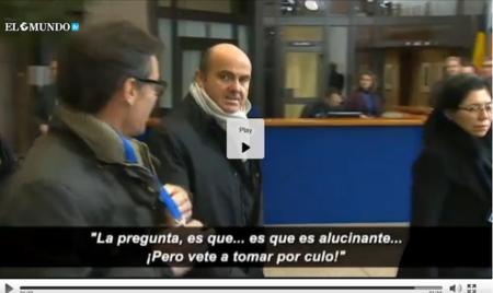 Sr. De Guindos: no queremos practicar sexo, queremos que responda las preguntas