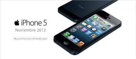 El iPhone 5 con Iusacell, Movistar y Telcel en noviembre