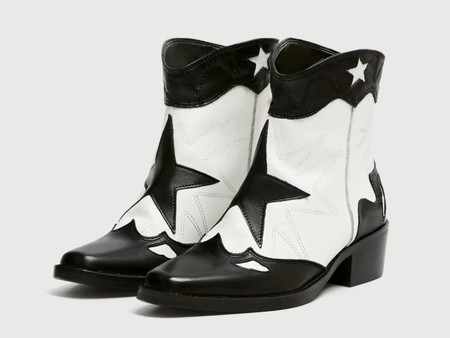 Botas Cow Boy Pull Bear