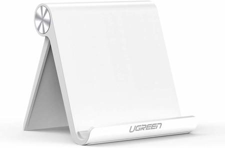 """UGREEN - Soporte para Tablet de Escritorio, multiángulo, Ajustable, Compatible con Apple iPad Pro 11""""/10.5""""/9.7"""", iPad Mini 5 4 3 2, iPad Air 3 2 1, Nintendo Switch, Galaxy Tab A / S5 / S4 (Blanco)"""