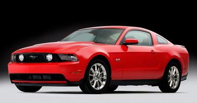 Primeras imágenes del 2011 Ford Mustang GT