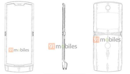 Motorola Razr 2019 Patent 02