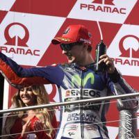 Jorge Lorenzo alcanza a Mick Doohan en número de podios de MotoGP