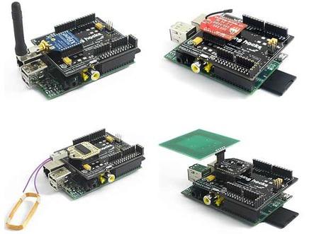 Algunos ejemplos de conexión de dispositivos