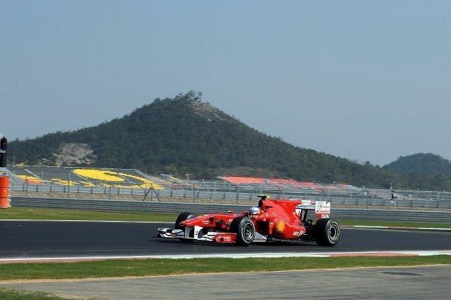 Fernando Alonso saldrá tercero en el GP de Corea del Sur de Fórmula 1 2010