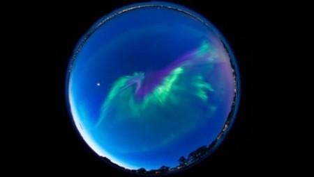 [Vídeo] Una aurora boreal como nunca antes la habéis visto