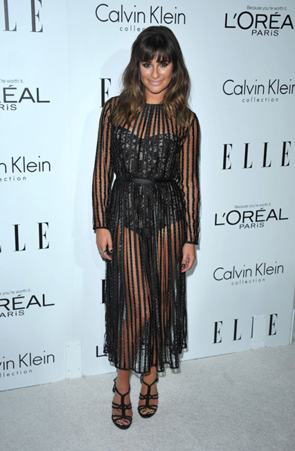 fiesta Elle Women in Hollywood 2012 lea michele