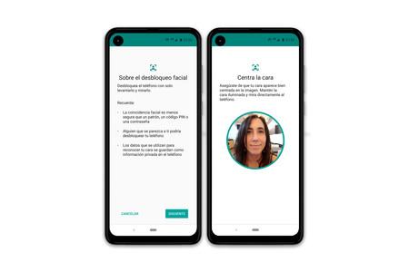 Motorola One Action Reconocimiento