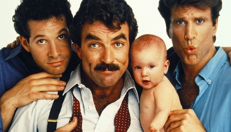 Series Peliculas Paternidad Tres Hombres Un Bebe